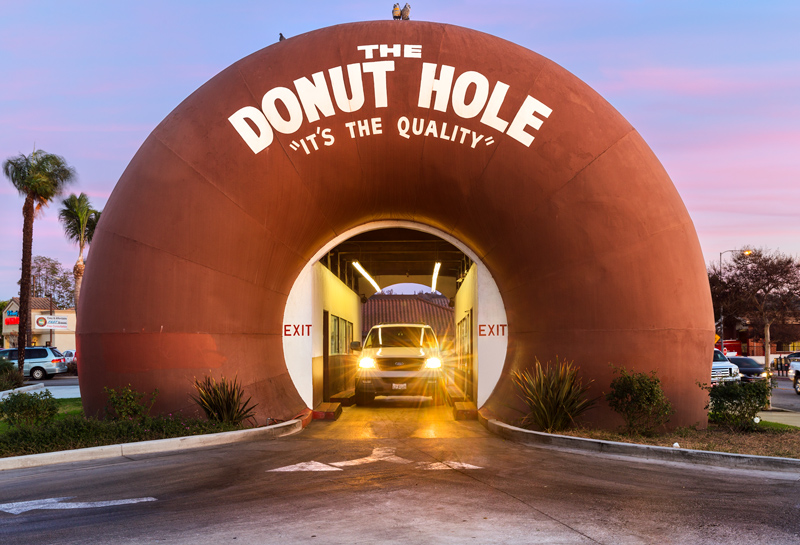 The Donut Hole, La Puente, Los Angeles