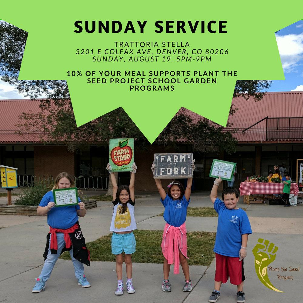 Trattoria Stella Sunday Service