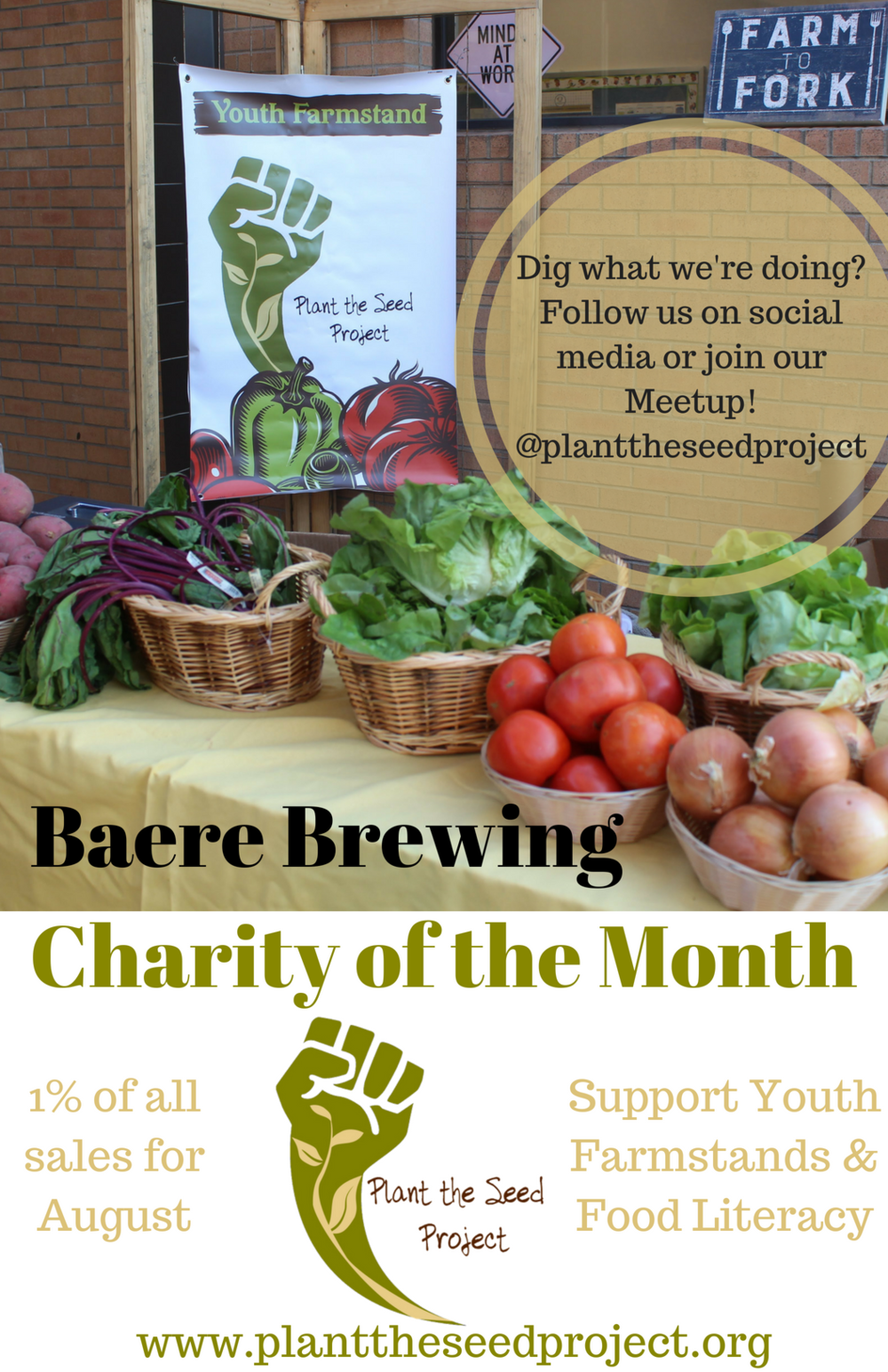 Baere Brewing Charity of the Month