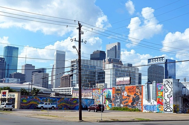 East Downtown Houston by Andy Zhang