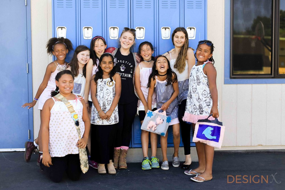 summer camps, designx, fashion camps, los altos, silicon valley, bay area, bay area campls