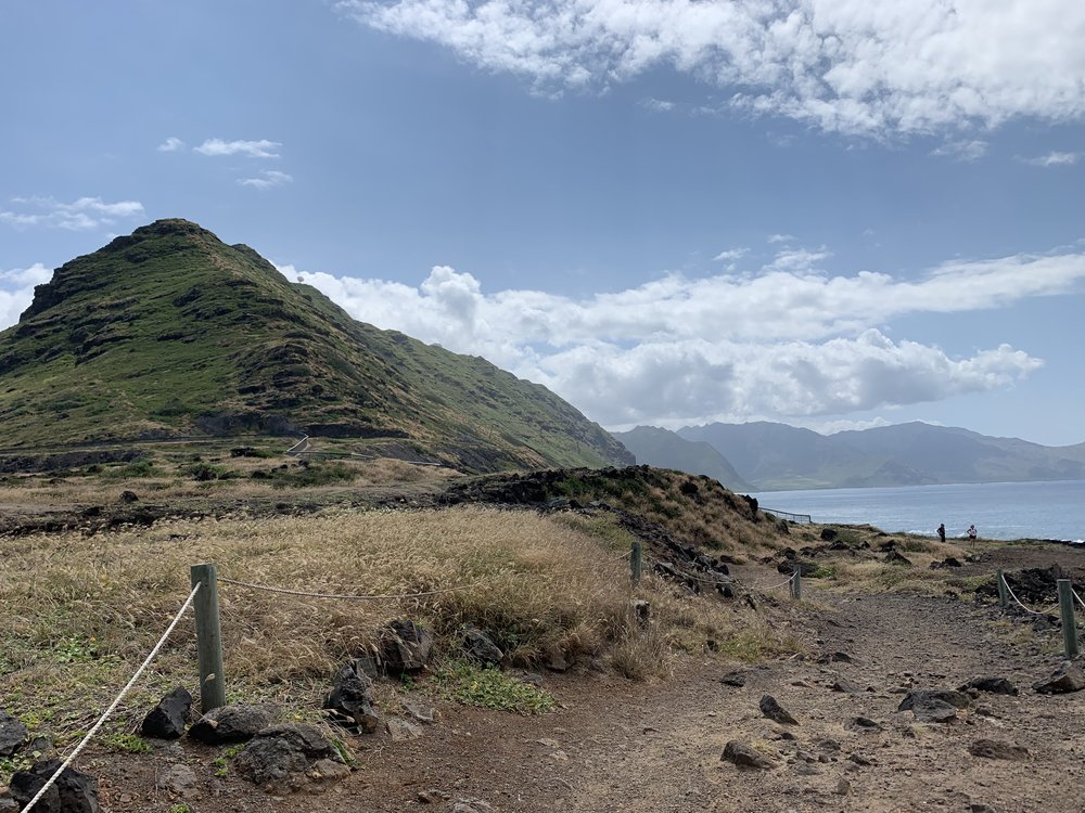 Kaena Point Reserve (end of trail)
