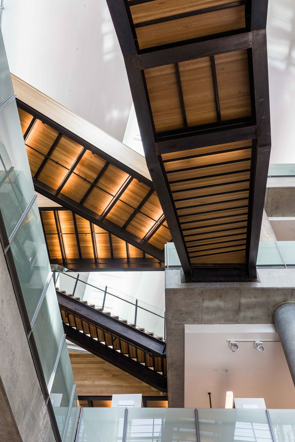 Nothing ordinary going on here: stairwells and run-of-the-mill escalators are a thing of the past.