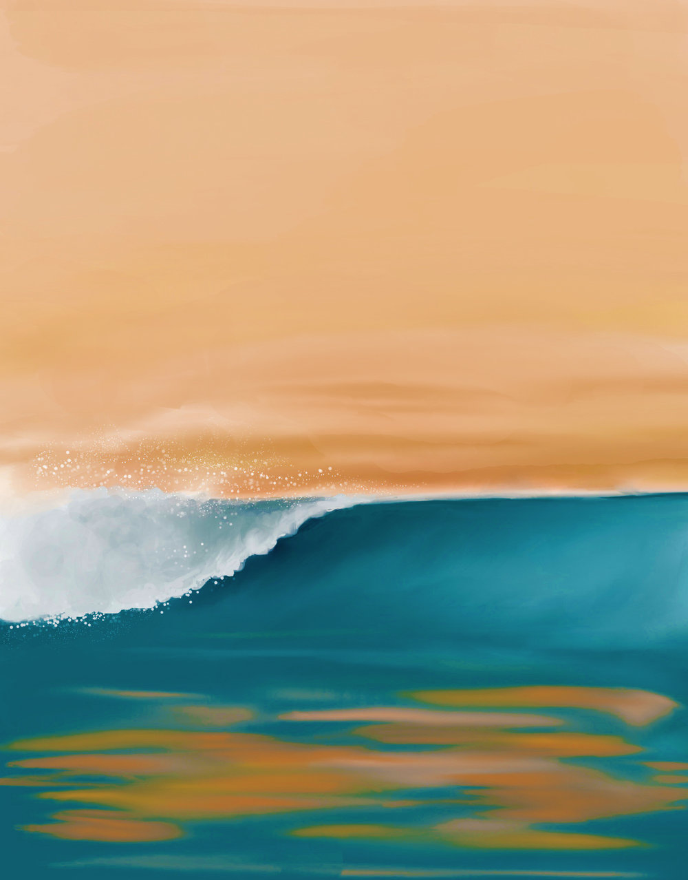 ocean beach hummingart studio