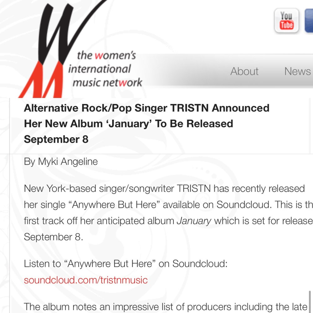 WOMEN'S INTL MUSIC NETWORK - By MYKI ANGELINE(CLICK IMAGE TO READ MORE)
