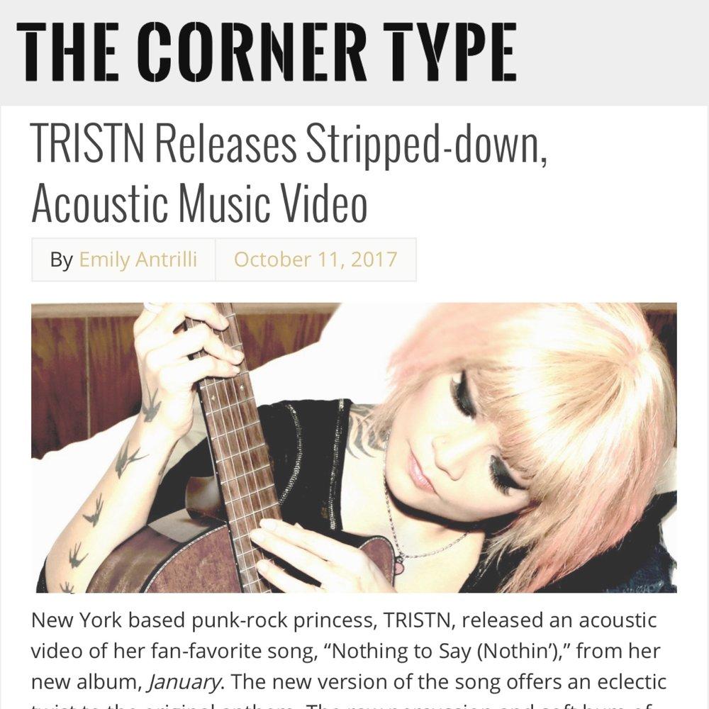 THE CORNER TYPE -