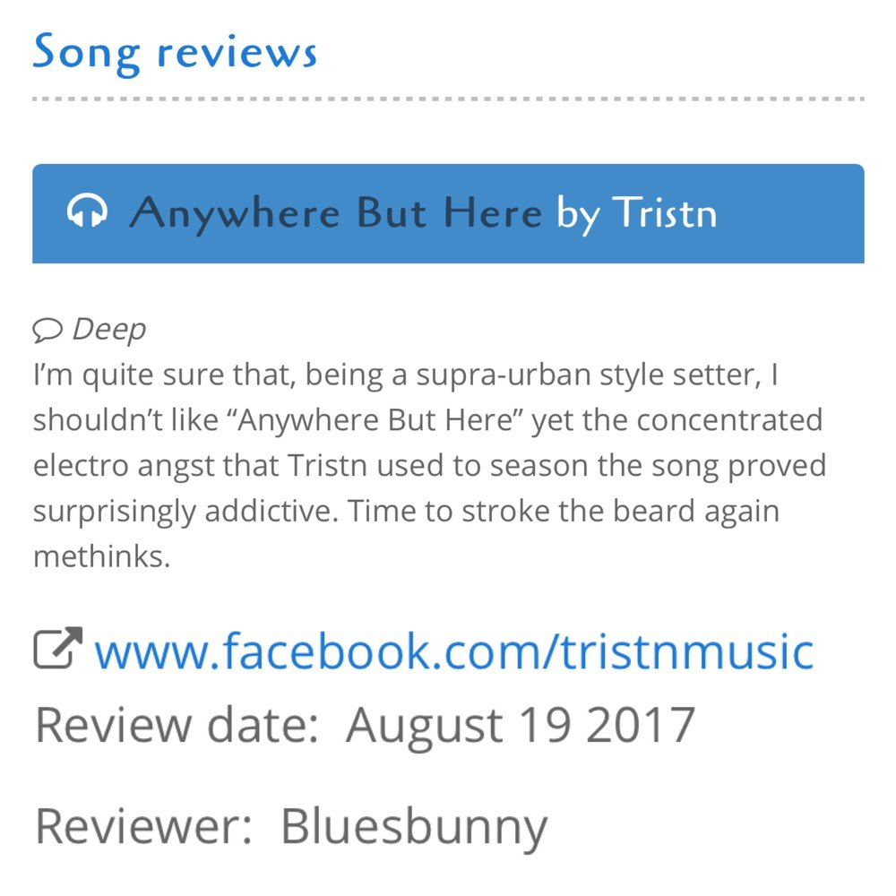 BLUES BUNNY - REVIEW -
