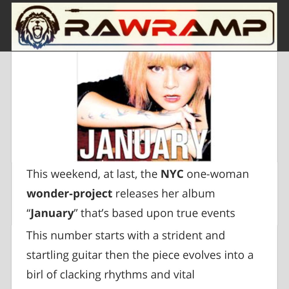 RAWRAMP MAGAZINE - REVIEW -