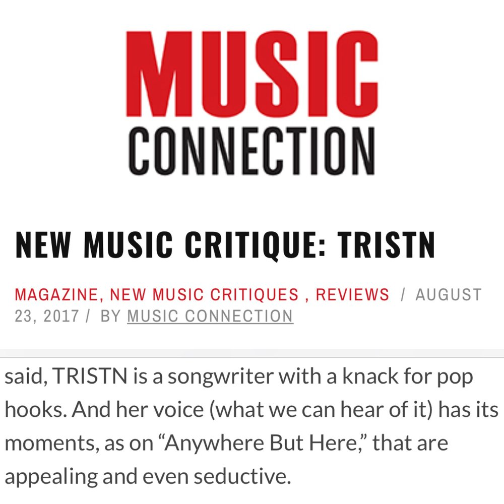 MUSIC CONNECTION - REVIEW -