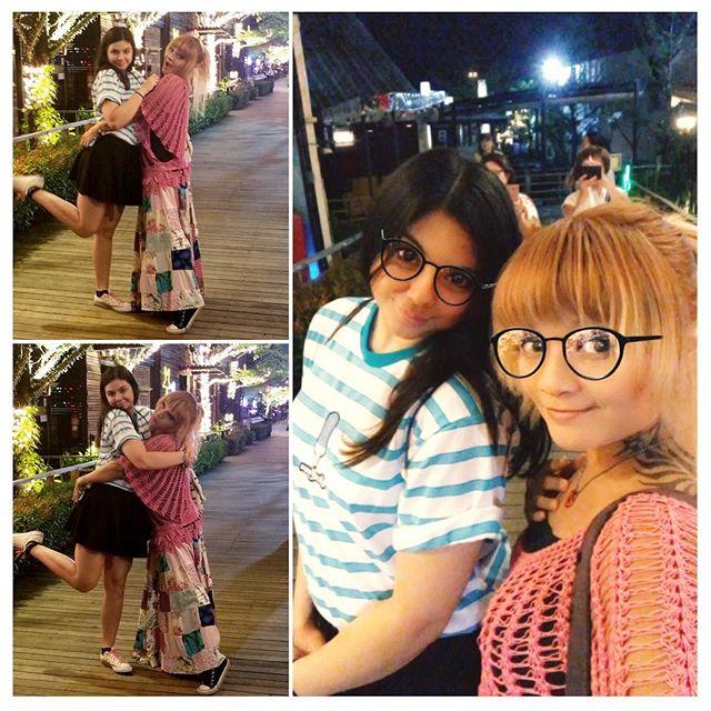 Just me ➕ @ehmnikki #reunited #girlygirls #bangkoklife #singersongwriter #instagirls #thaigirl #bangkoklife #indieartist #bffs