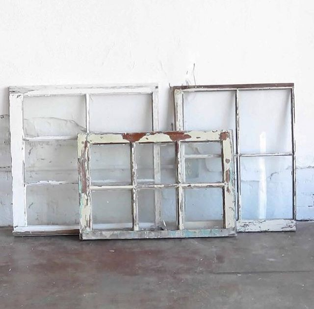 We can never have enough vintage window panes. The collection just keeps on growing!   #ArdorVenue #GatherAtArdor