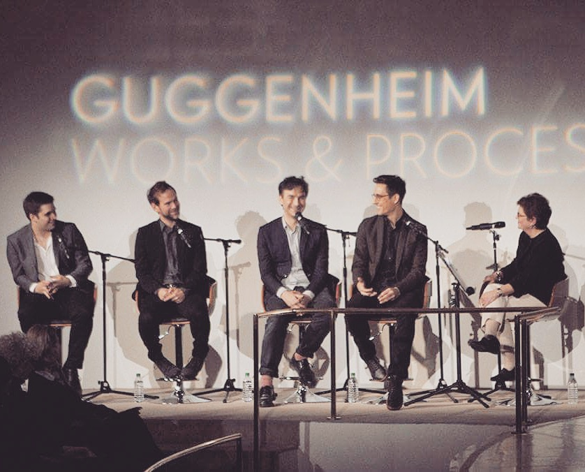 Watch the complete interview with Brandon Stirling Baker, Justin Peck and the creative team speaking at the Guggenheim Museum:    https://www.youtube.com/watch?v=71OsxczPWVA&feature=youtu.be