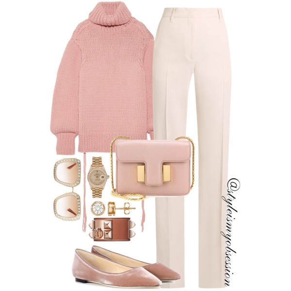 Chic Flats - Pink Sweater.jpg