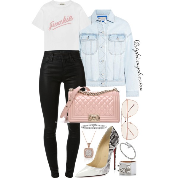 Style Inspiration French Kiss Acne Studios Denim Jacket Christian Louboutin So Kate Pump Chanel Quilted Boy Bag.jpg