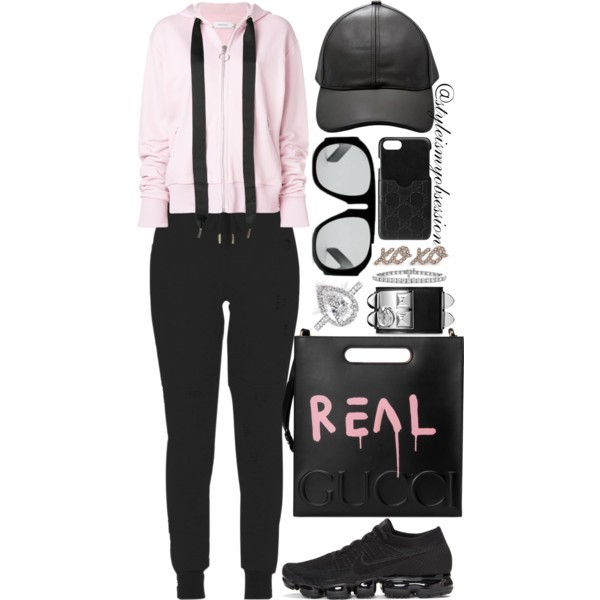 Style Inspiration Keep It Real Marques Oversize Zipped Hoodie Gucci Ghost Leather Tote Nike Air VaporMax Running Sneaker.jpg