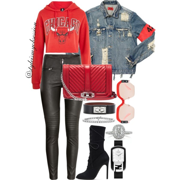 Style Inspiration All-Star Weekend Topshop x Unk Bulls Hoodie 424 Denim Jacket Yeezy Canvas Lace-Up Boots Rebecca Minkoff Love Bag.jpg