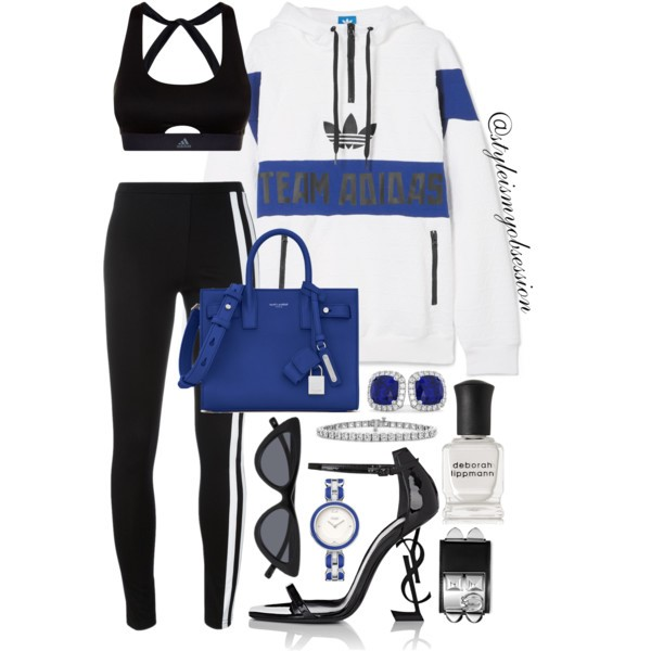 Style Inspiration Sporty Spice Adidas Originals Embossed Jacket Y-3 Side Stripe Leggings Saint Laurent Sac De Jour Bag Saint Laurent Opyum Sandal.jpg