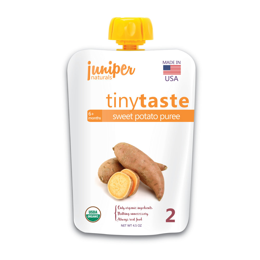 Juniper Naturals sweet potato puree