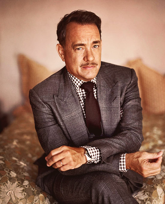 tom-hanks-menswear-style-peaked-lapels-checked-shirt-moustache