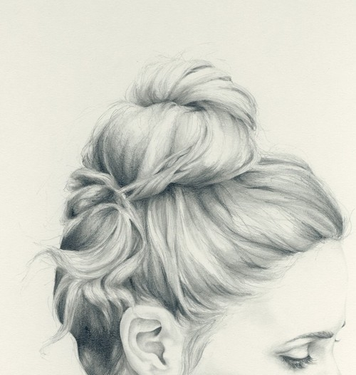 45406-Braided-Bun-Sketch