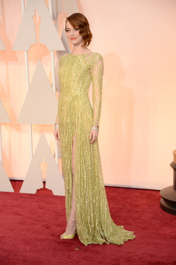 Emma Stone in Elie Saab Haute Couture