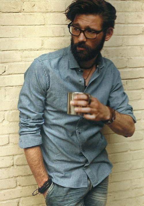 Great beard, great hair...
