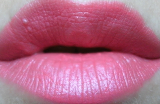 LUSH lipstick in Believe
