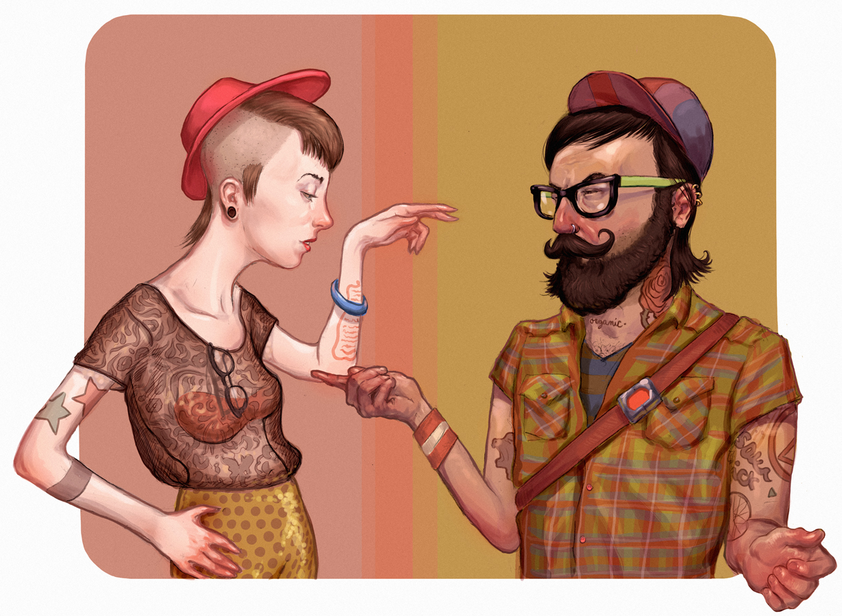 WEB+hipsters
