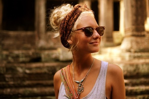Bohemian-Chic-Updo-Hairstyle