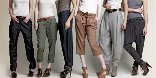 WOMEN-TROUSERS