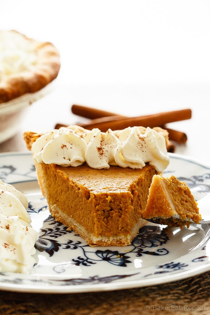 Pumpkin Pie (duh)   The classic Thanksgiving - can't live without it! Currently drooling.