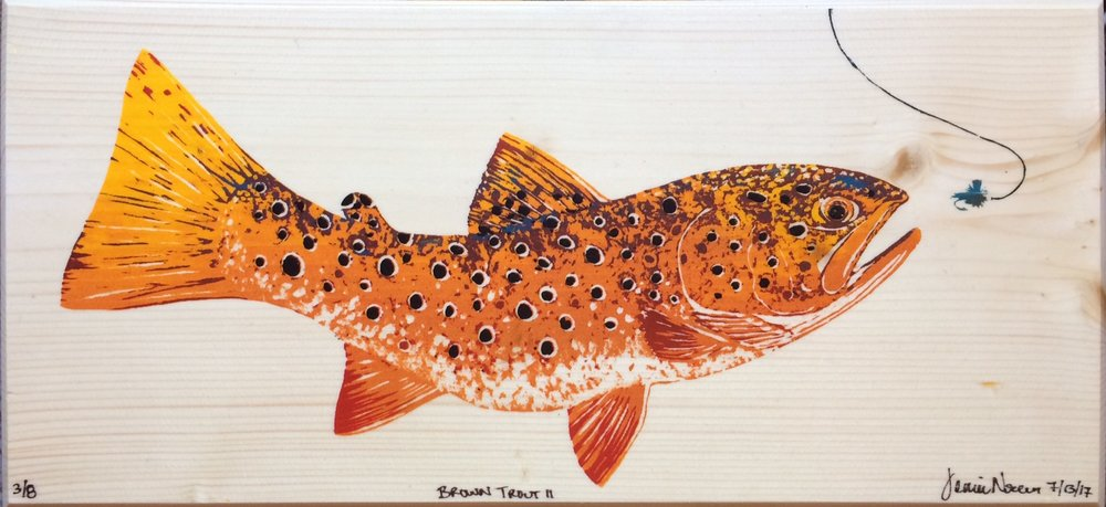 Brown Trout II, 2017