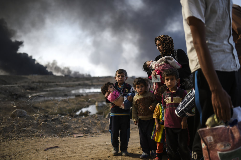 Iraqi Refugees 2016