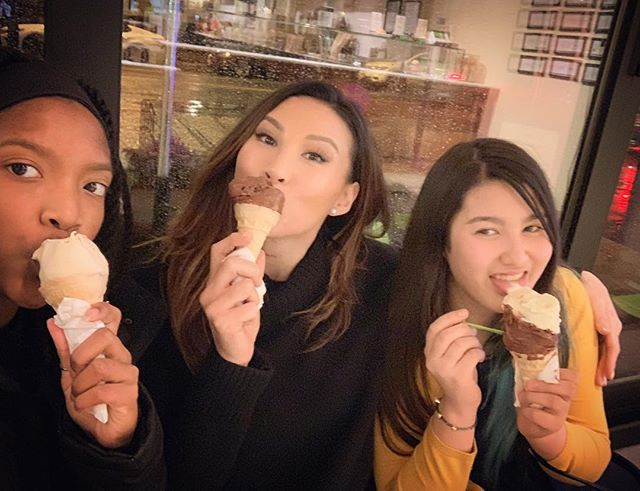 Rainy nights are perfect for ice cream 🍦 Actually... every night is perfect for ice cream