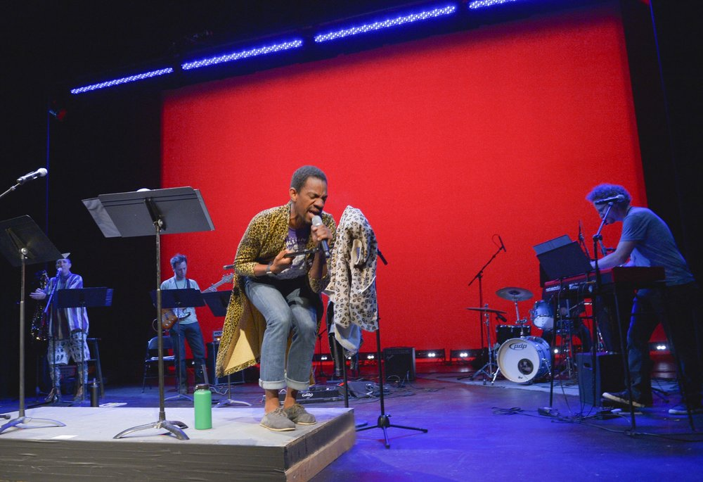 Reggie D. White in Eddie at Theatreworks New Works Festival 2016