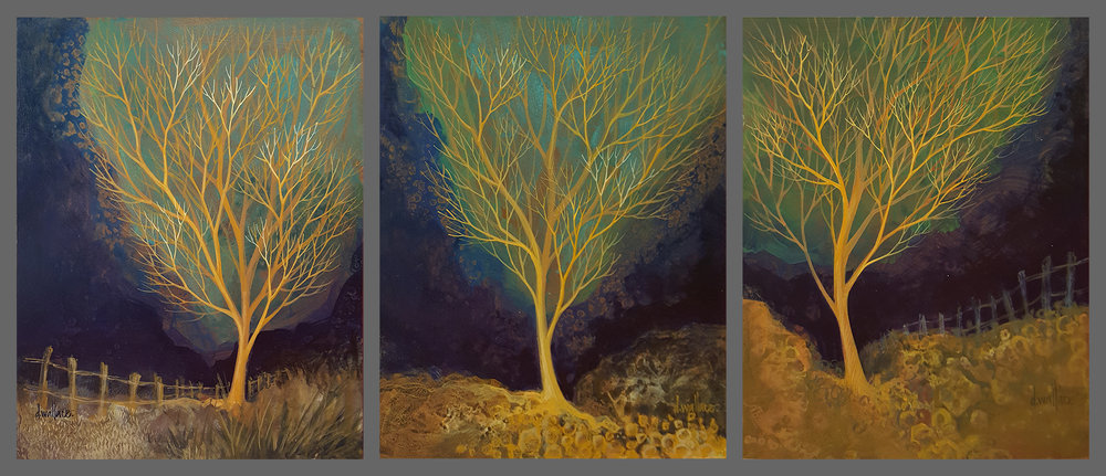 TreeStudies I, II, III