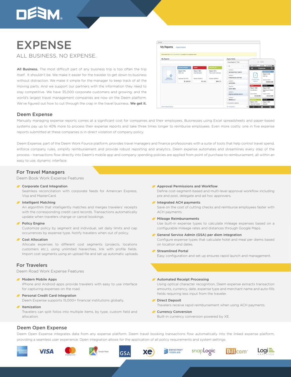 Deem Expense -