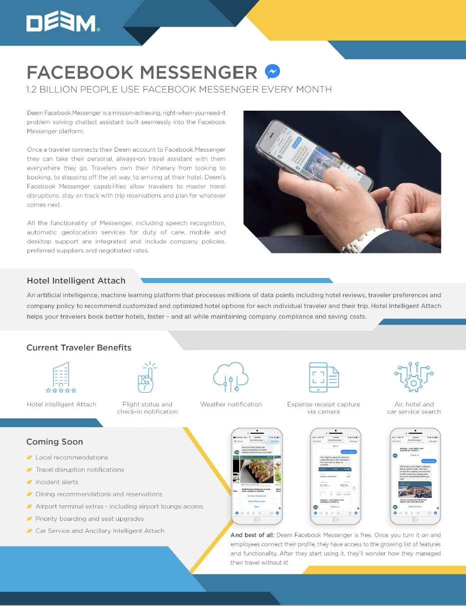 Deem Facebook Messenger -