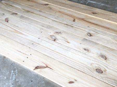 Latex wood finish