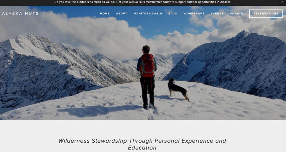Alaska Huts Association - 2016 Annual Appeal, 2017 Annual Appeal