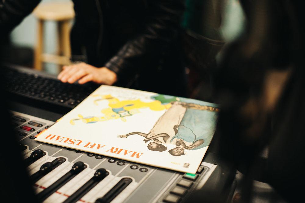 Radio DJ setup