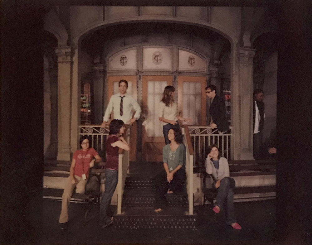 Photo from Trish's time as an SNL intern. She's pictured at bottom left. (You may recognize a few other faces, too!)