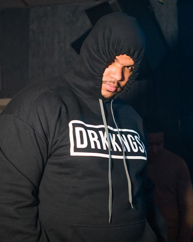 It's hoodie season ❄️ Big shout out to the king 🤴🏽 of Nuevo Yol 🗽 @mr_nuevayol for rocking the #DRKKNGS sweater this past weekend - Visit DARKKINGSAPPAREL.COM