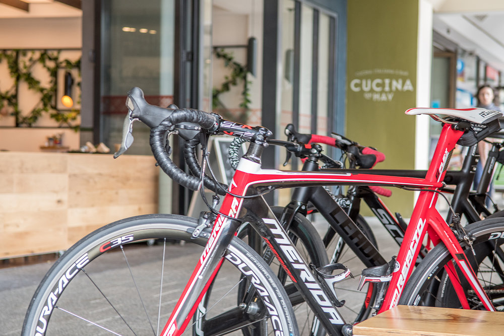 Bike friendly alfresco dining in Perth city - Cucina on Hay