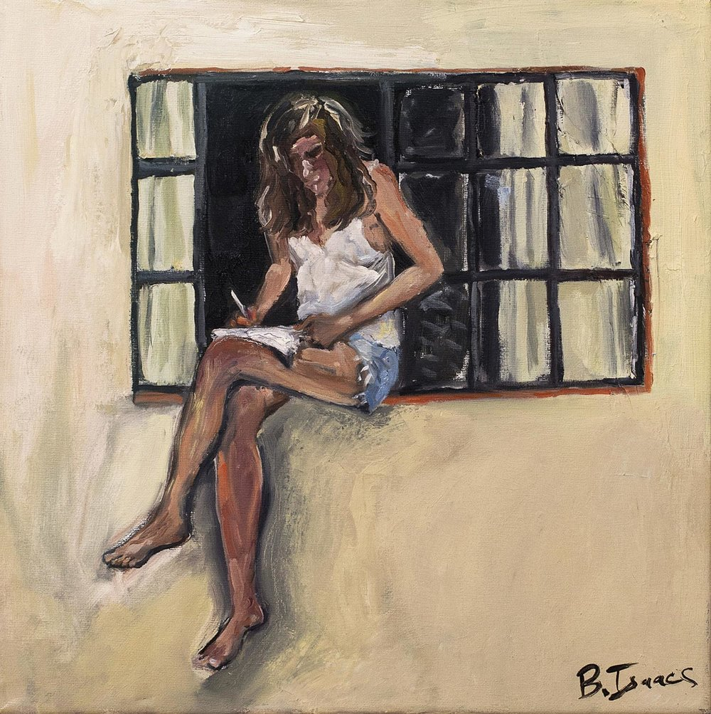 NEIGHBOUR Oil on Canvass  | 40 x 40 cm | 2010