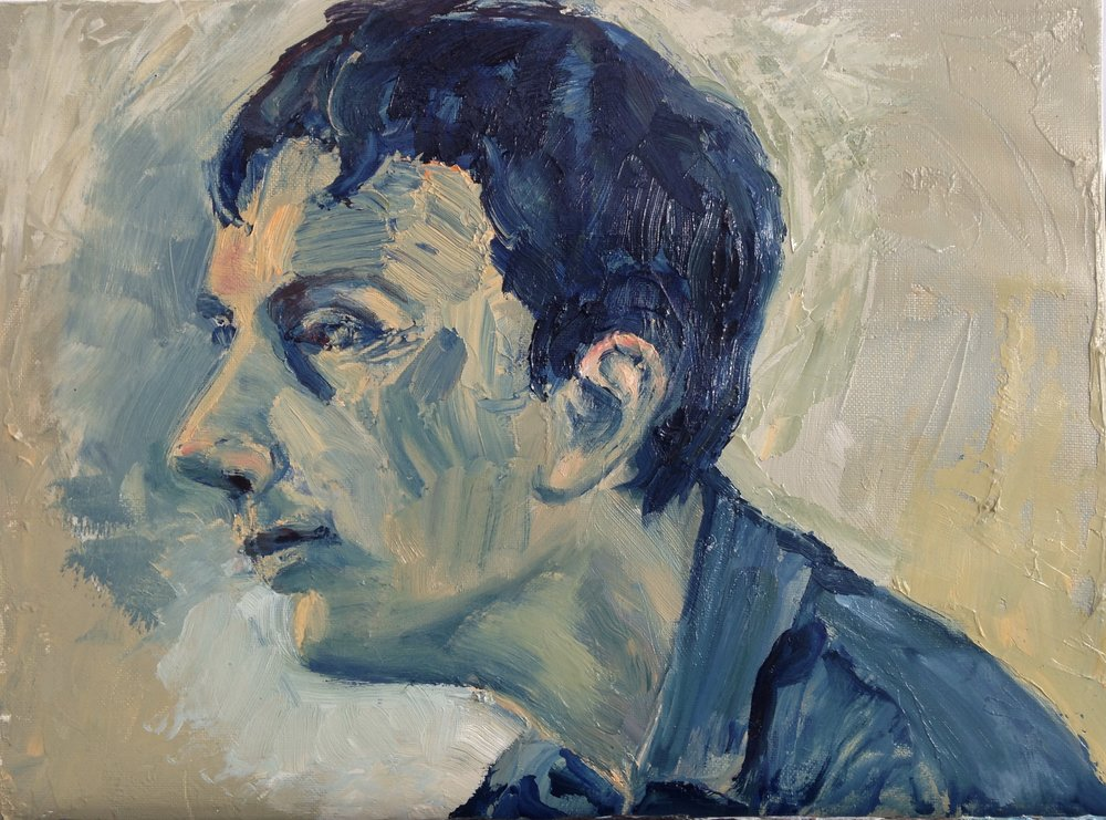 JACK SEATED Oil on Canvas | 40 cm x 30 cm | 2017 Available