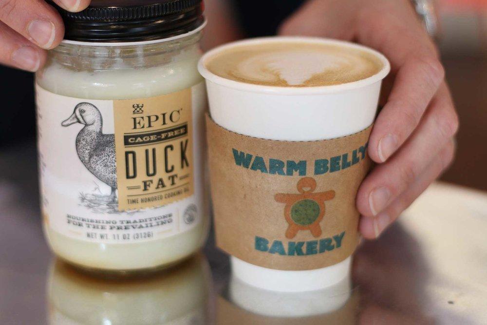 Duck Fat Maple Latte -
