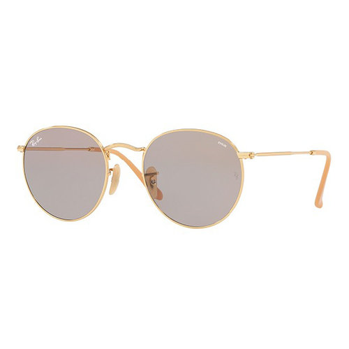 a1671e8a52 Ray-Ban ROUND EVOLVE RB3447. RB3447-Gold-Grey-Photocromic.jpg