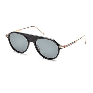 ff77855229f All · TB Optical · TB Sunglasses. THOM BROWNE TB809 A BLACK GOLD