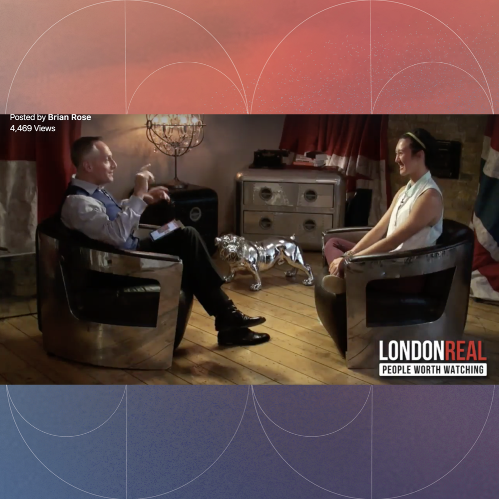 LONDON REAL - Co-founder Clare Lim in conversation with Brian Rose of London Real, discussing the seed concept of SharedSpace.